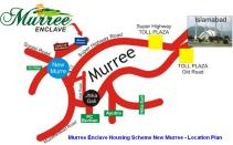 Murree Enclave Housing Scheme Patriata New Murree - Location Plan
