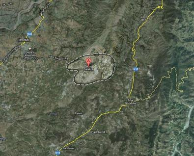 New Balakot City Satellite Map 2