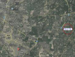 Flacon City Multan Satellite Map (On Southern By-Pass Near Royal Grace City and Sayyam Officers City Housing Schemes)