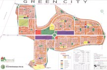 Green City Islamabad - Layout or Master Plan