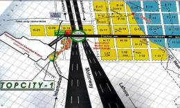 Top City 1 Housing Scheme Islamabad - Guide or Location Map