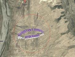 Gulistan e Sarmast Housing Scheme Hyderabad Satellite Map