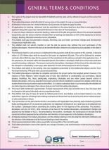 Gulshan-e-Subhan Housing Project Faisalabad - General Terms and Conditions