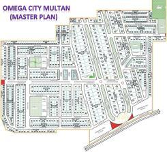 Omega City Multan Master plan
