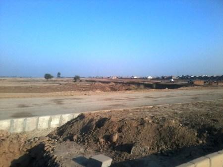 Lahore Motorway City development work