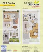 5 Marla Home Layout Drawing
