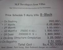 Icon Villas Phase 2 Multan - Price 5 Marla House
