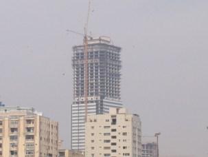 Bahria Icon Karachi - Picture under Construction