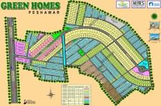Green Homes Peshawar - Master Plan Big Size