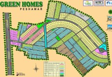 Green Homes Peshawar - Master Plan Small Size