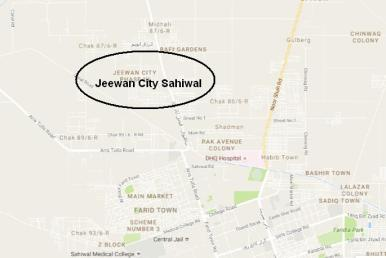 jeewan-city-sahiwal-location-map-on-faisalabad-road