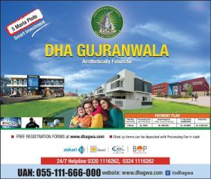 DHA Gujranwala - DHAGWA Website 5 Marla Plots Registration Form Online Download