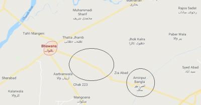 Madina Garden Bhawana District Chiniot - Location Map