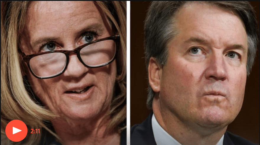 Blasey Ford and Kavanaugh