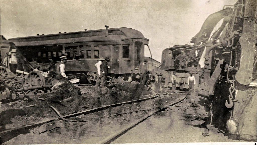 Cambrige, Iowa, Milwaukee Road wreck