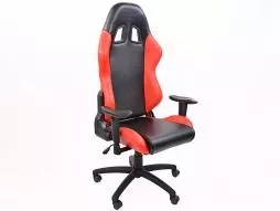 revolving chair second hand round theater fk automotive tuning shop sport seat office chairs 31 setat gaming liverpool black red swivel
