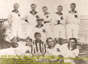 1. foto hráčů SK Protivín v roce 1920