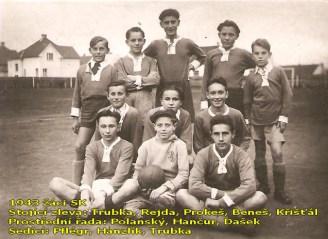 V roce 1943 existovalo i žákovské mužstvo