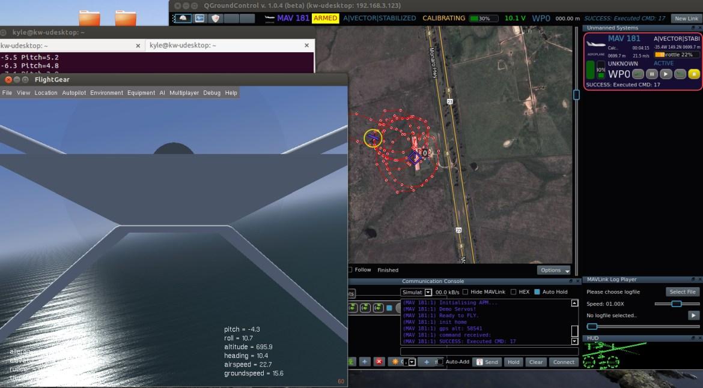 Running simulation