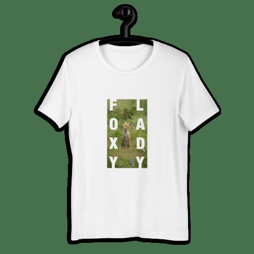 t shirt foxy lady