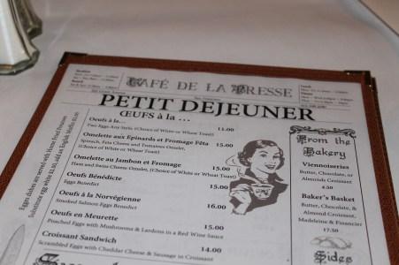 Cafe La Presse