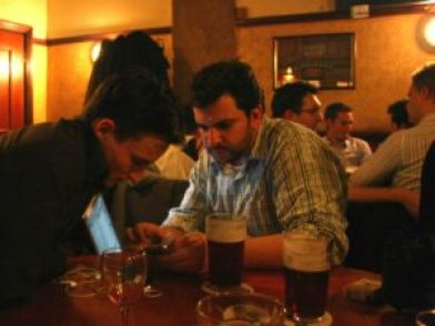 Weintraub and friend jailbreak an iPhone
