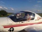 Diamond Air DA-20 Katana aus der Charterflotte der Flugschule Fläming Air
