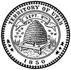 Utah Territory Second Seal