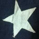 Applique Star Closeup