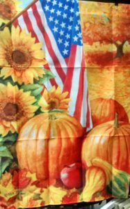 Patriotic Pumpkin
