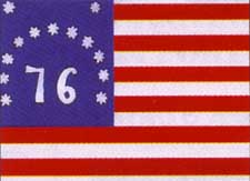 The 76 Bennington Flag