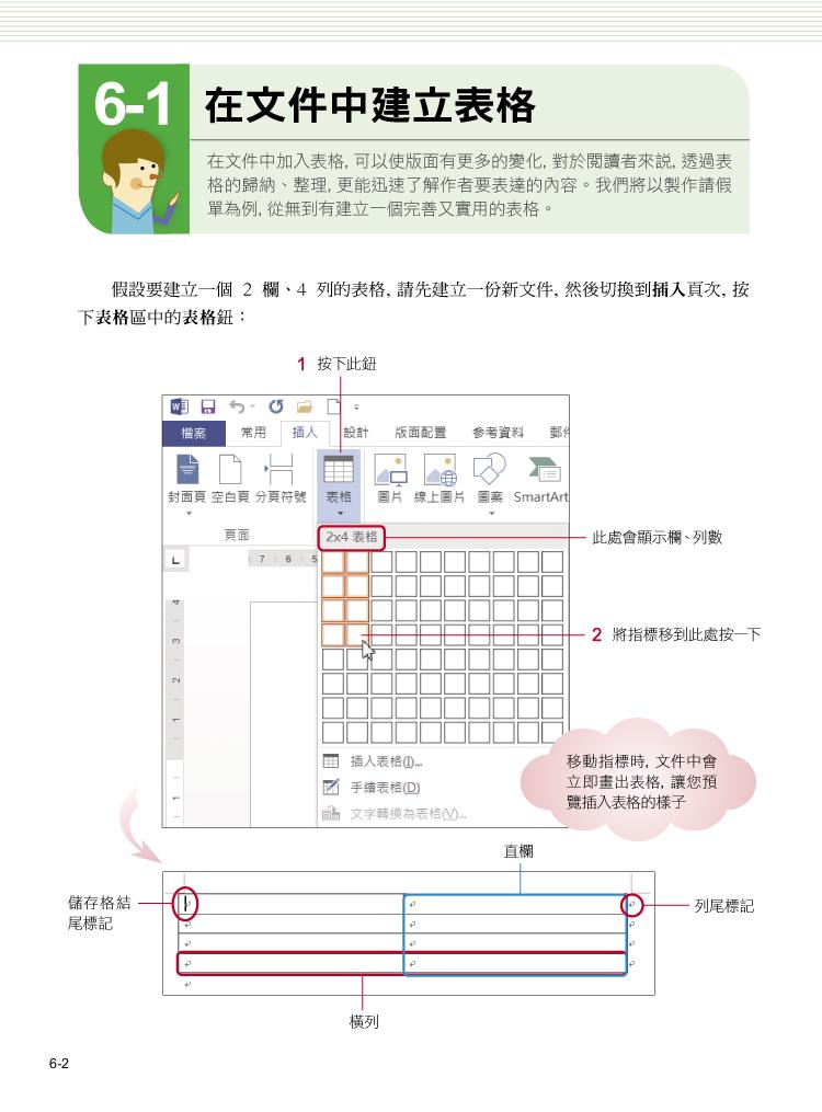 Microsoft Word 2013 使用手冊(附CD)