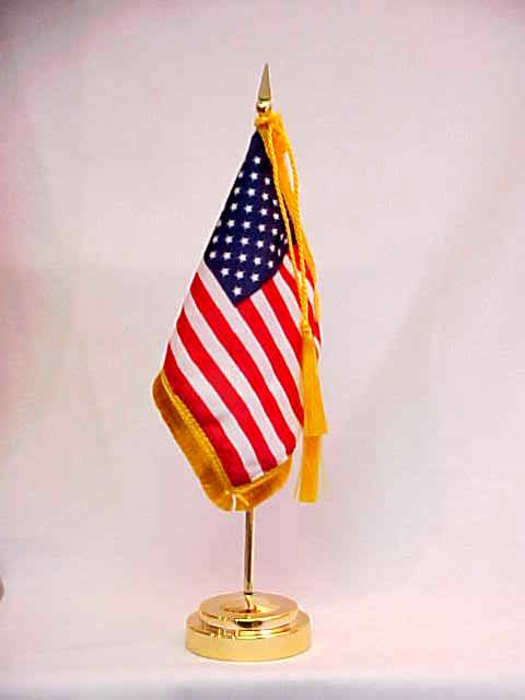American Desk Flags Fine Gift Quality and Simple Low Cost