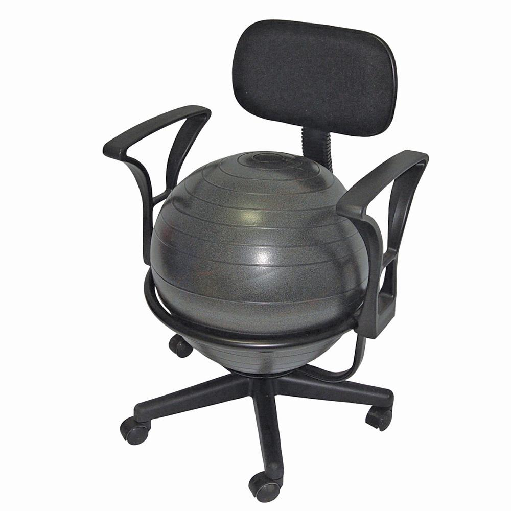 office ball chair benefits dining room covers dublin with armrests - adult | flaghouse