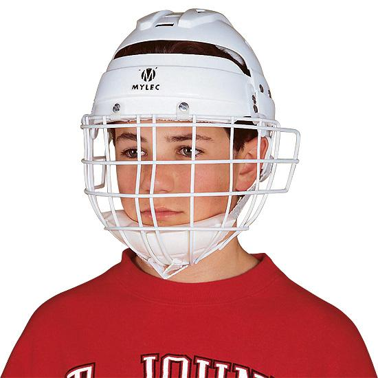 street hockey helmet face