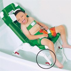 Otter Bath Chair Hanging Installation - Tub Stand | Flaghouse