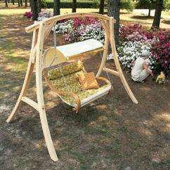 Hammock Chair With Stand Plastic Chairs Cape Town Double Cushioned Canopy Flaghouse