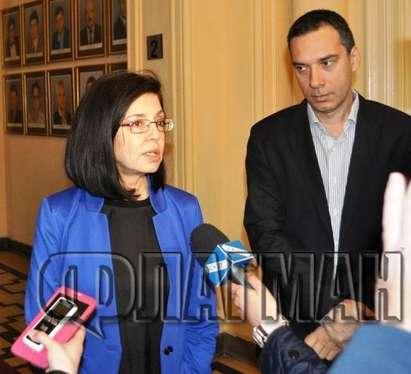 Меглена Кунева ще отваря центрове за бежанци към общините, кметовете обаче не знаят