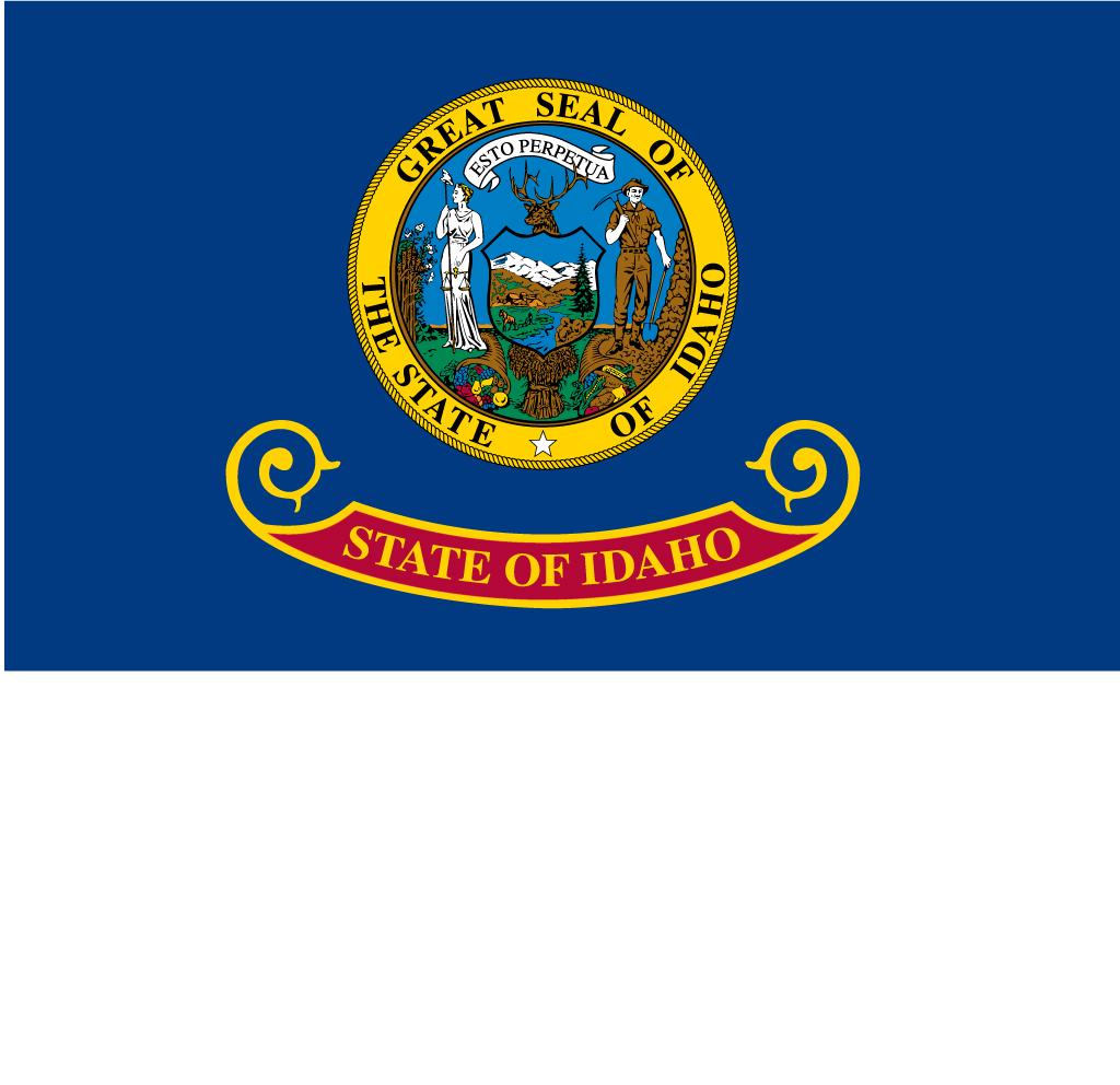 Idaho Usa Flag Pictures