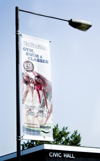Buy Lamp Post Banners | Printed Banners by House of Flags
