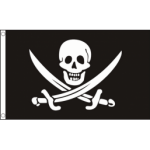 Jack Rackham Calico Jack flag 5ft x 3ft