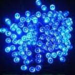 Solar Pole lights 10m blue