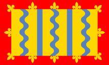 Cambridgeshire flag 5ft x 3ft