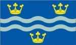Cambridgeshire New style flag 5ft x 3ft