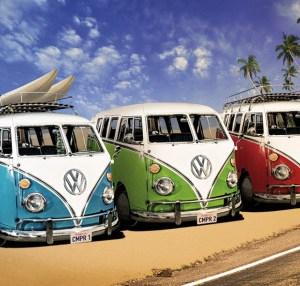 VW camper maxi poster - Campers