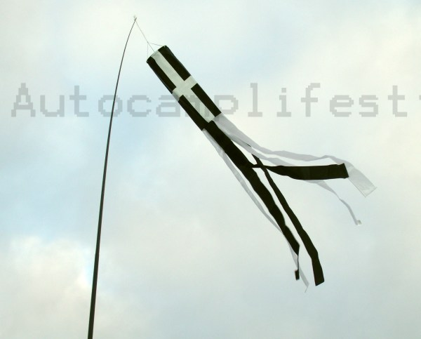 "Cornwall Windsock tubetails 60"" St Piran"