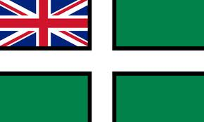 Devon Ensign flag 5ft x 3ft