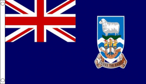 Falkland islands flag 5ft x 3ft