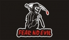 Fear no evil grim reaper flag 5x3ft