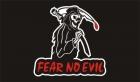 Fear no evil grim reaper flag 5x3ft